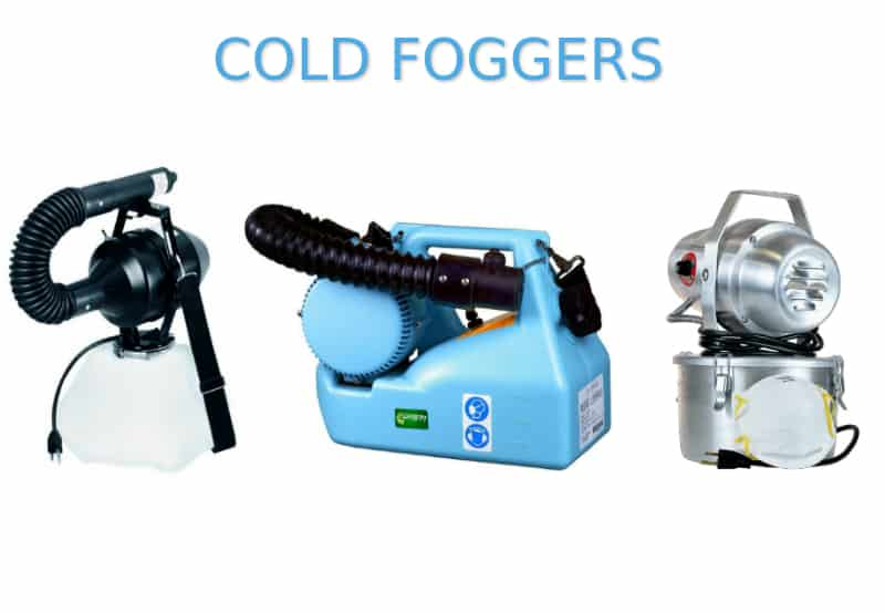 what are cold foggers