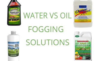 Water vs oil based fogging solutions