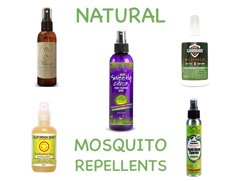 Natural Oil Mosquito Repellent