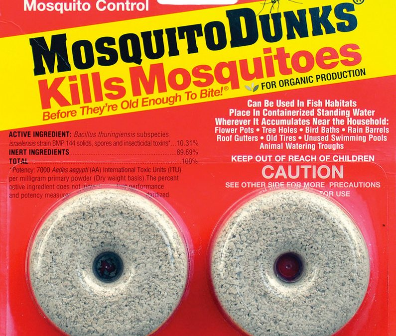 What are Mosquito Dunks and how they work