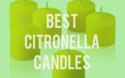 Best Citronella Candles – Mosquito Candles That Work
