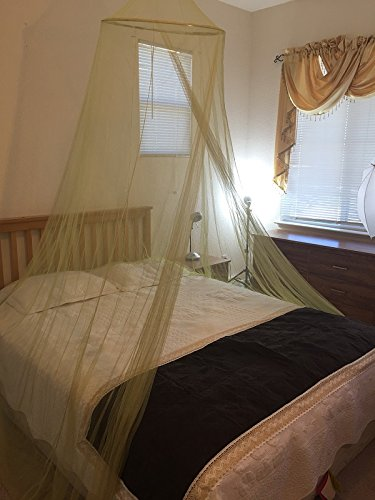 This canopy bed net can be used outdoors and indoors for your bed lounge area in your back yard or as a decorative piece for different events and you ... & Best mosquito net canopy for bed | INSECT COP