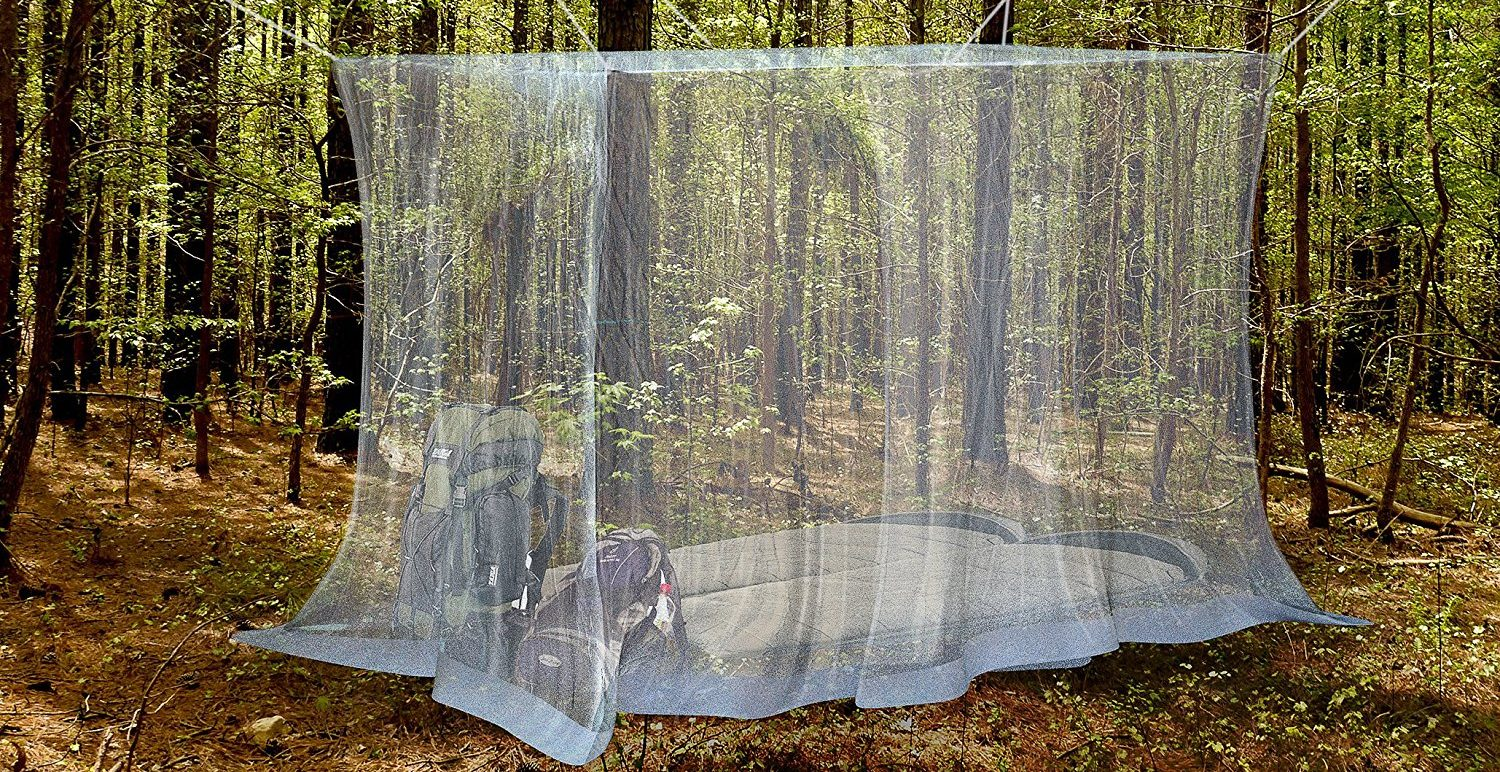 Mosquito Netting Curtains