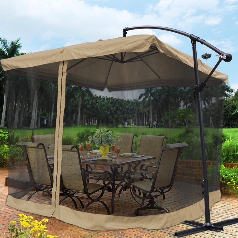 The Yescom Tan Colored Mosquito Netting Screen Mesh Net For The Outdoor  Patio Is Mainly Designed To Keep Away Irritating Mosquitoes And Other  Biting Insects ...