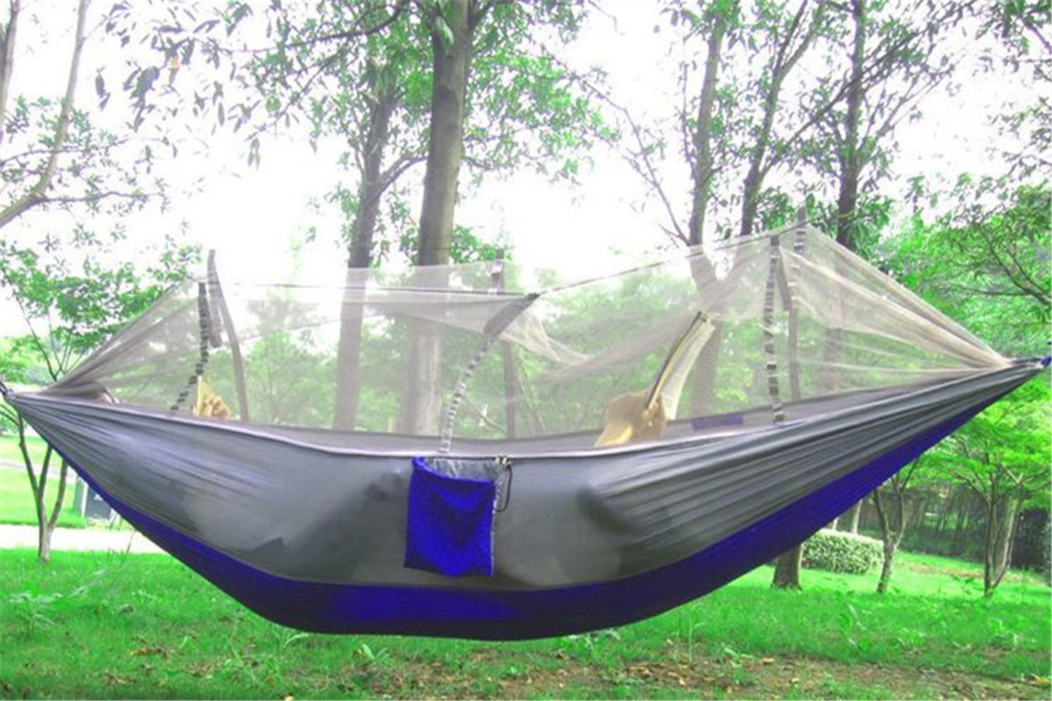 Medium image of the eiala hammock with mosquito   is extremely strong and  fortable as it is designed and produced out of durable hundred percent parachute nylon