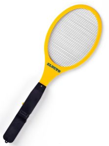 tennis racket bug zapper