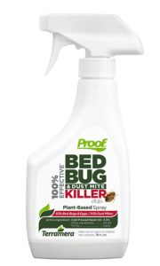proof bed bug spray