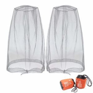 Insect Nets & Repellents Mosquito Head Net Standard Pest Control Repellents Headwear Fine Mesh Snug Fits Camping & Hiking Equipment
