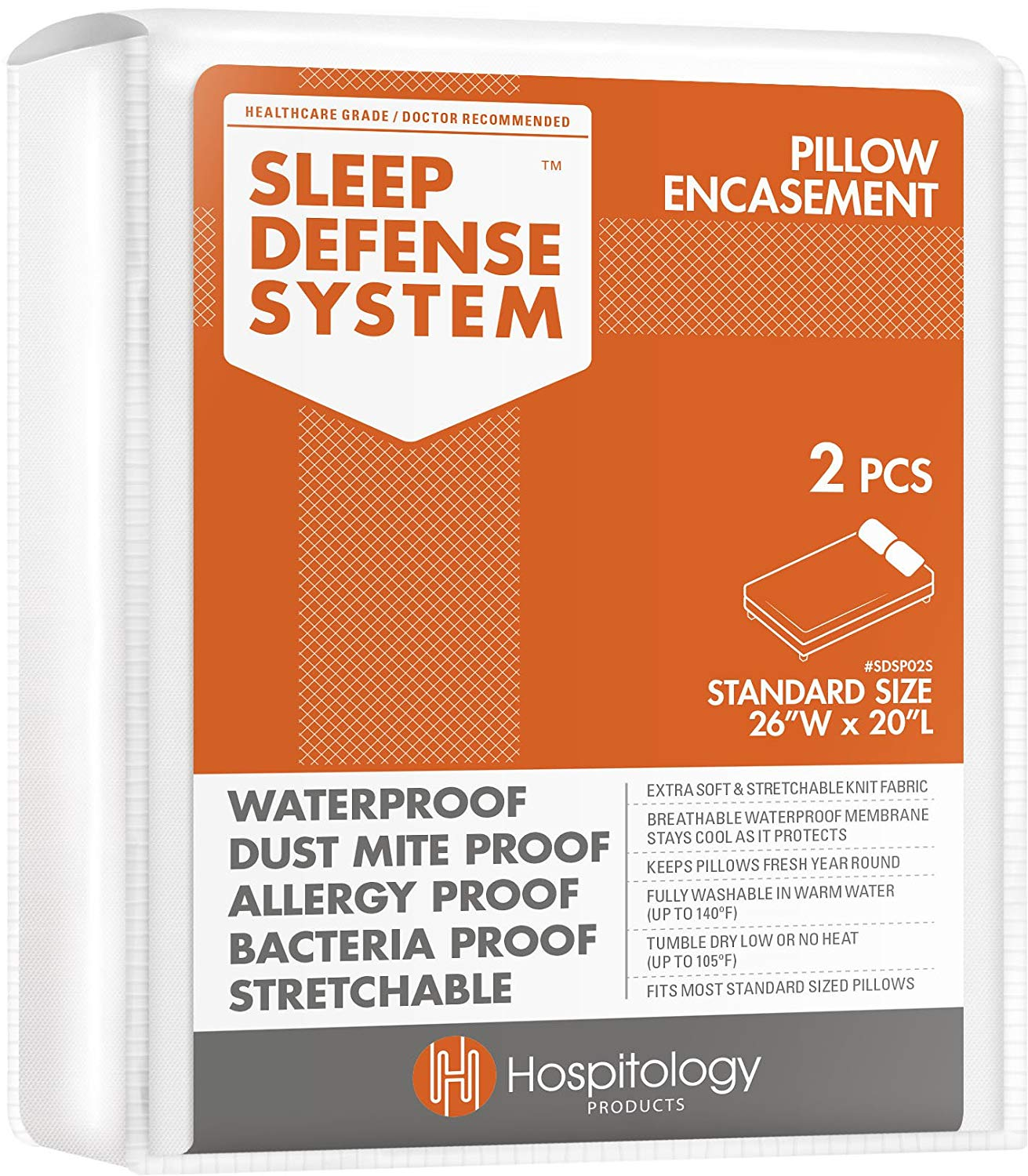 hypoallergenic pillow covers