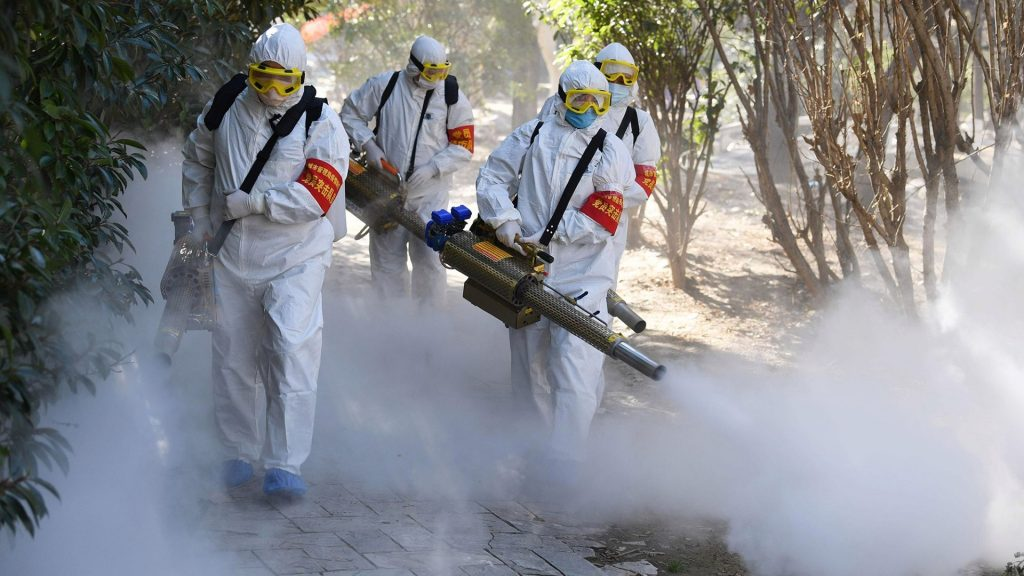 Mosquito Foggers used as disinfectant foggers