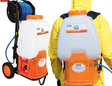 battery-operated backpack sprayer